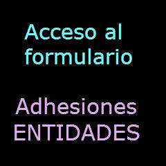 FORMULARIO ENTIDADES