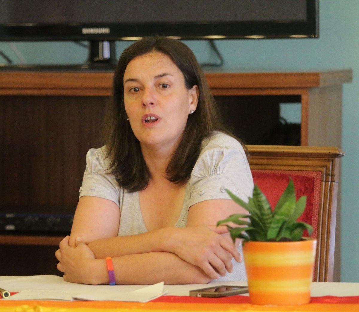 Natalia Aventín, presidenta de Chrysallis. / PABLO SEGURA