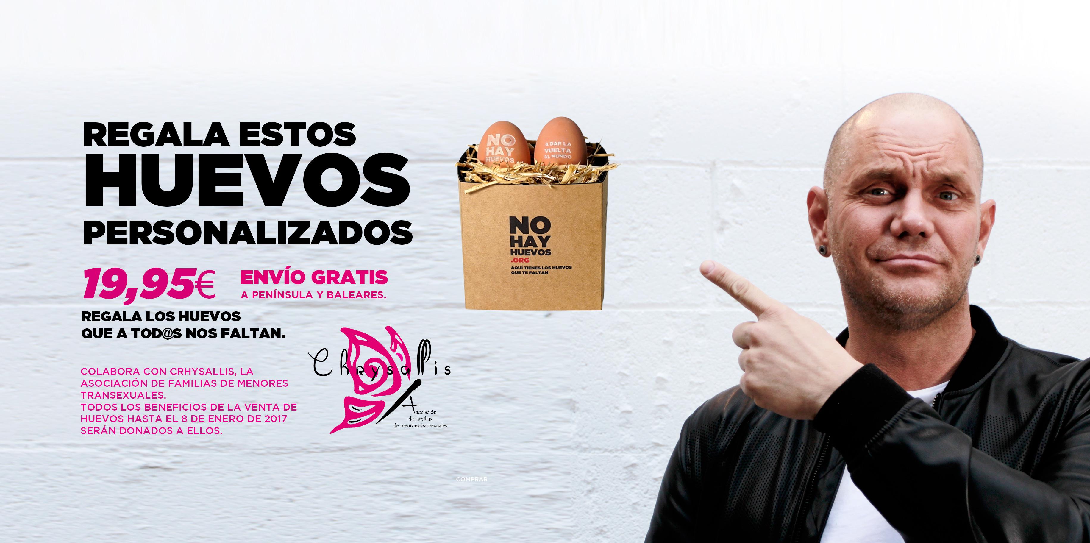 Immagine della campagna per l'acquisto delle uova.