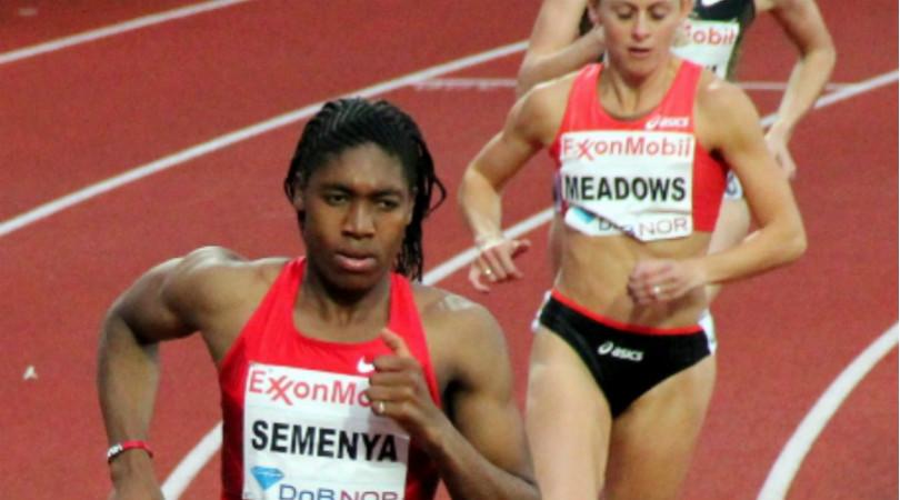 Caster Semenya, en los juegos de Bislett en 2011