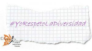 Hashtag Campaña YoRespetoLaDiversidad
