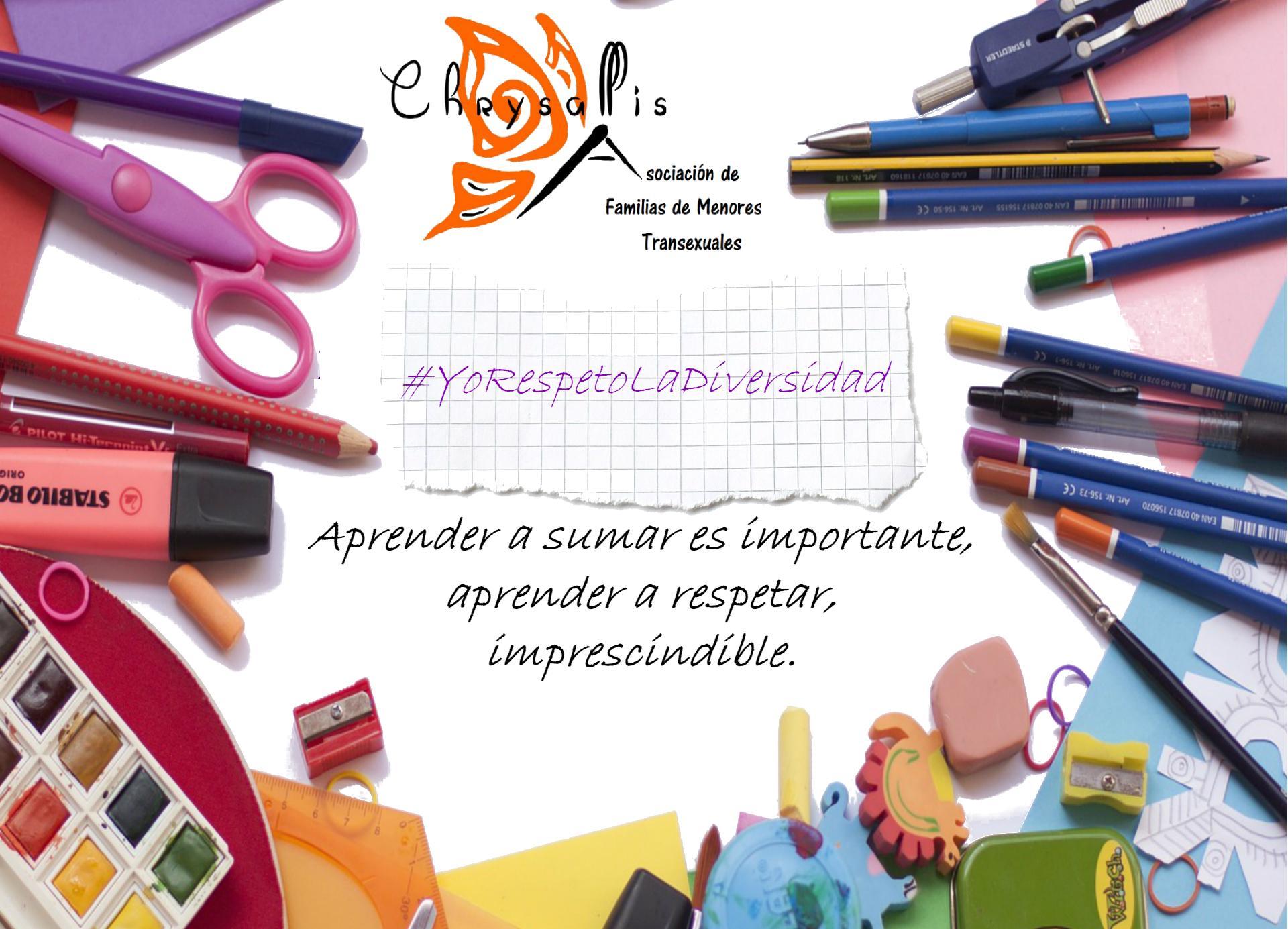 Profesorado Campaña YoRespetoLaDiversidad